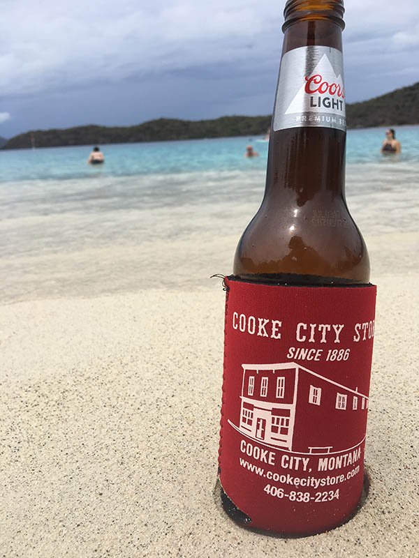 British Virgin Islands Koozie